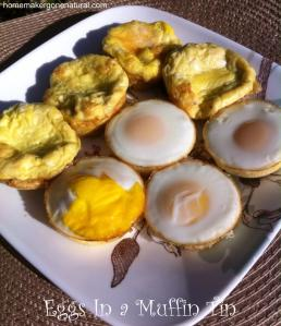 eggs in a muffin tin