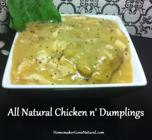 All Natural Chicken n Dumplings